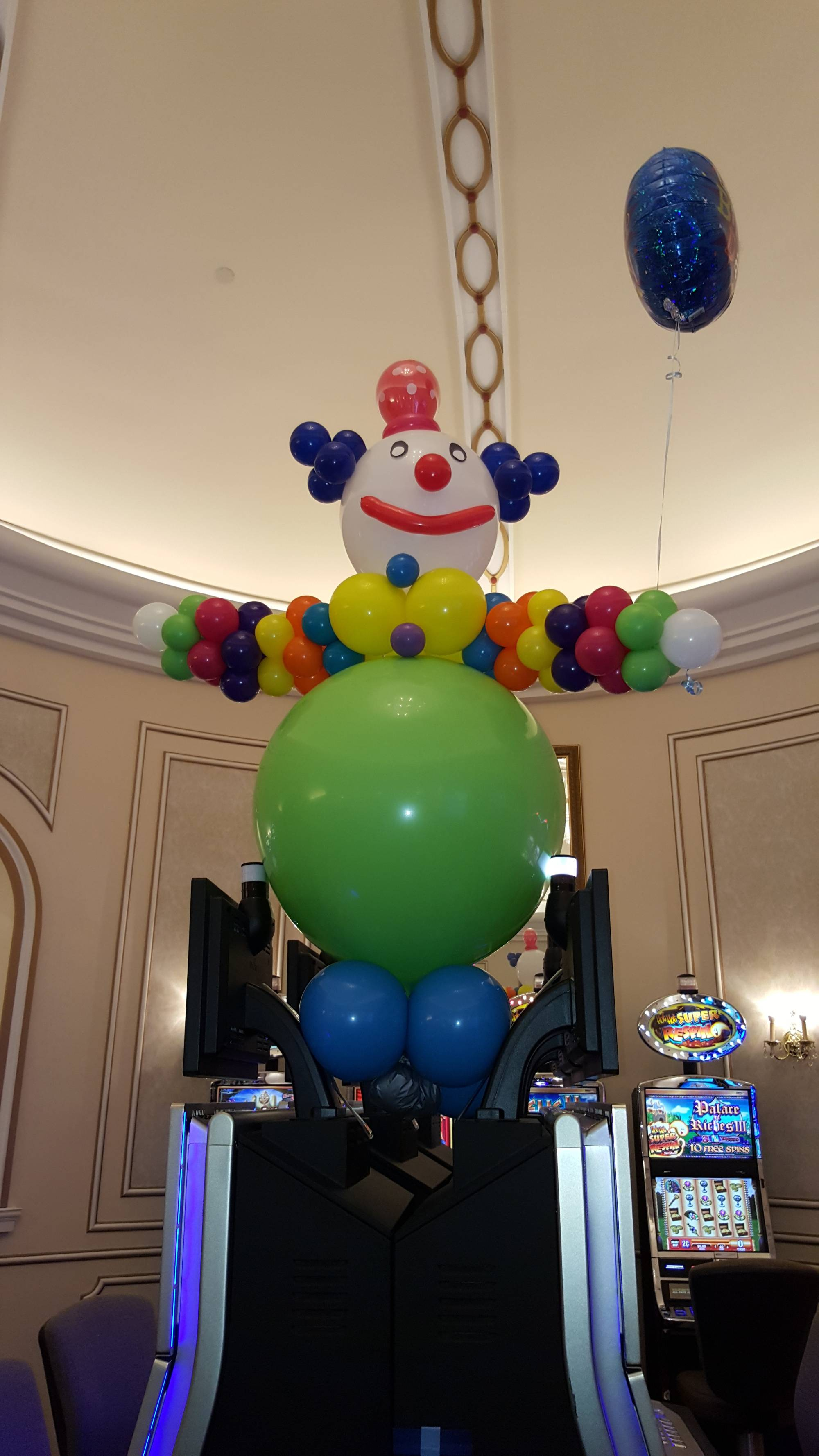 Giant Balloon Clown by Balloon Empire