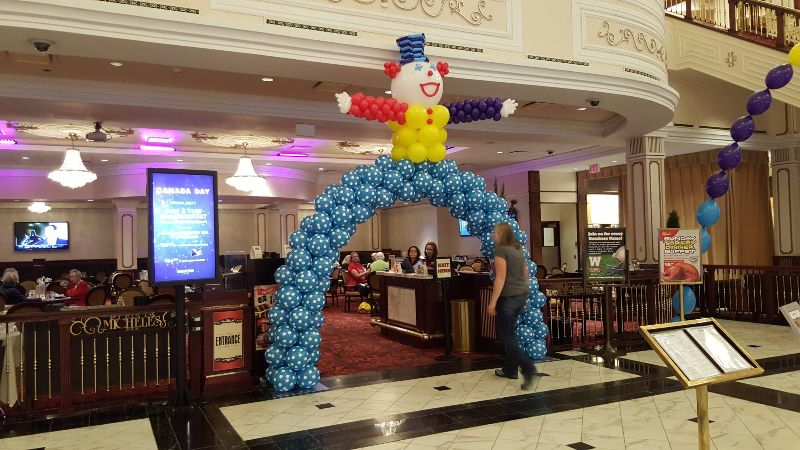 Walk Thru Clown Archway by Balloon Empire