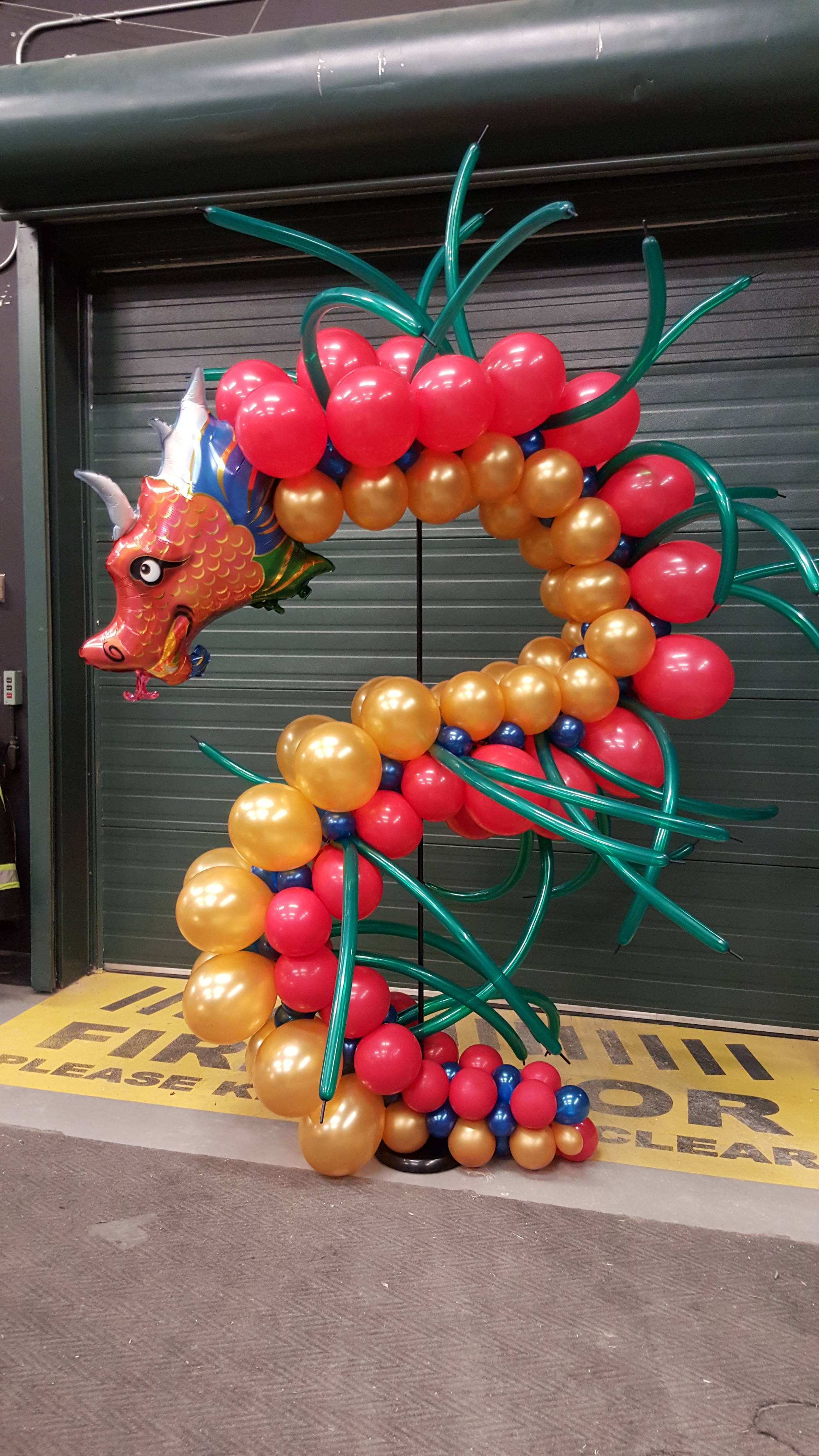 Giant Balloon Dragon by Balloon Empire