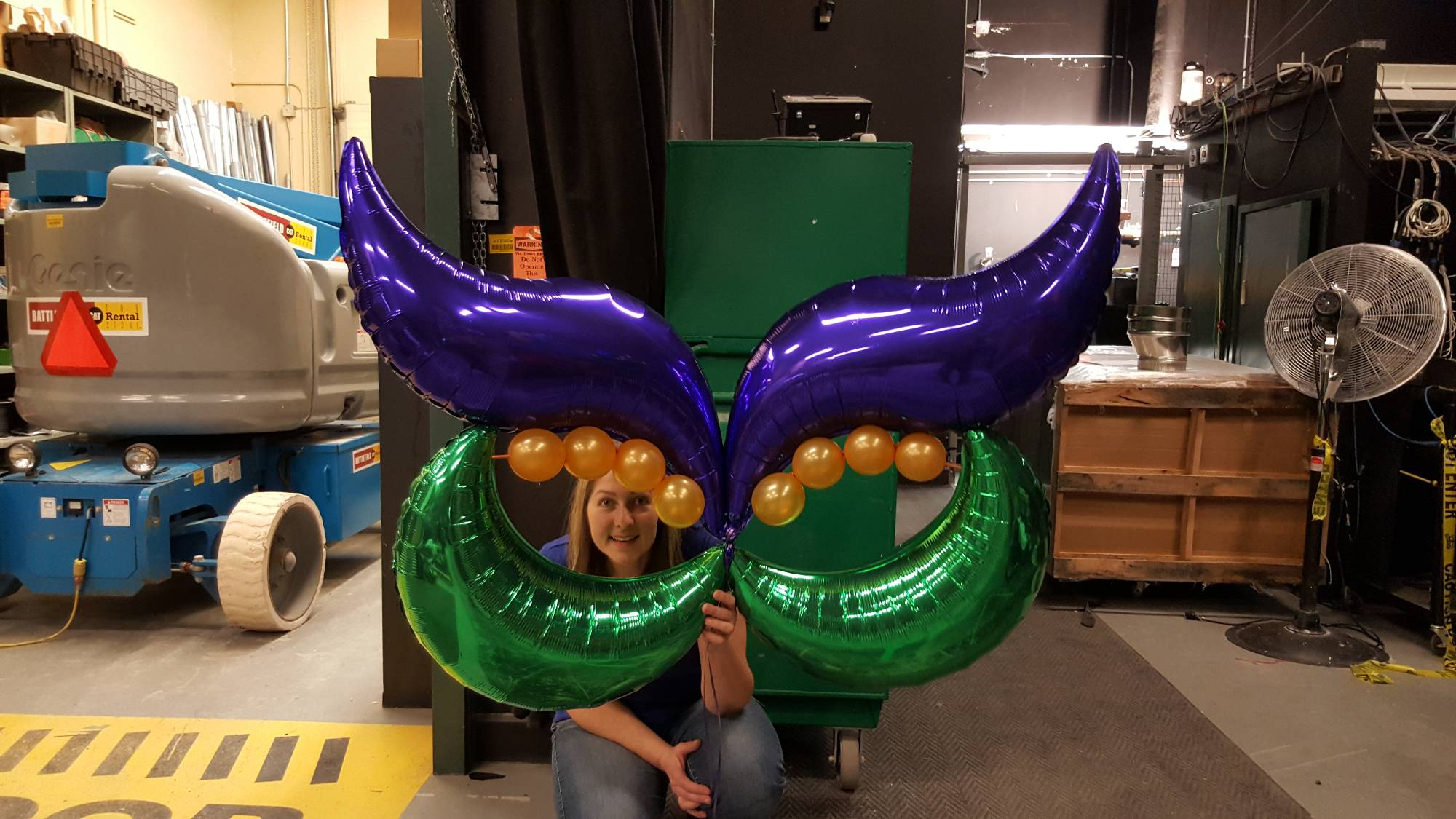 Mardi Gras Mask by Balloon Empire