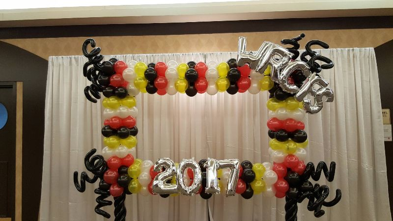 Balloon Photo Frame by Balloon Empire