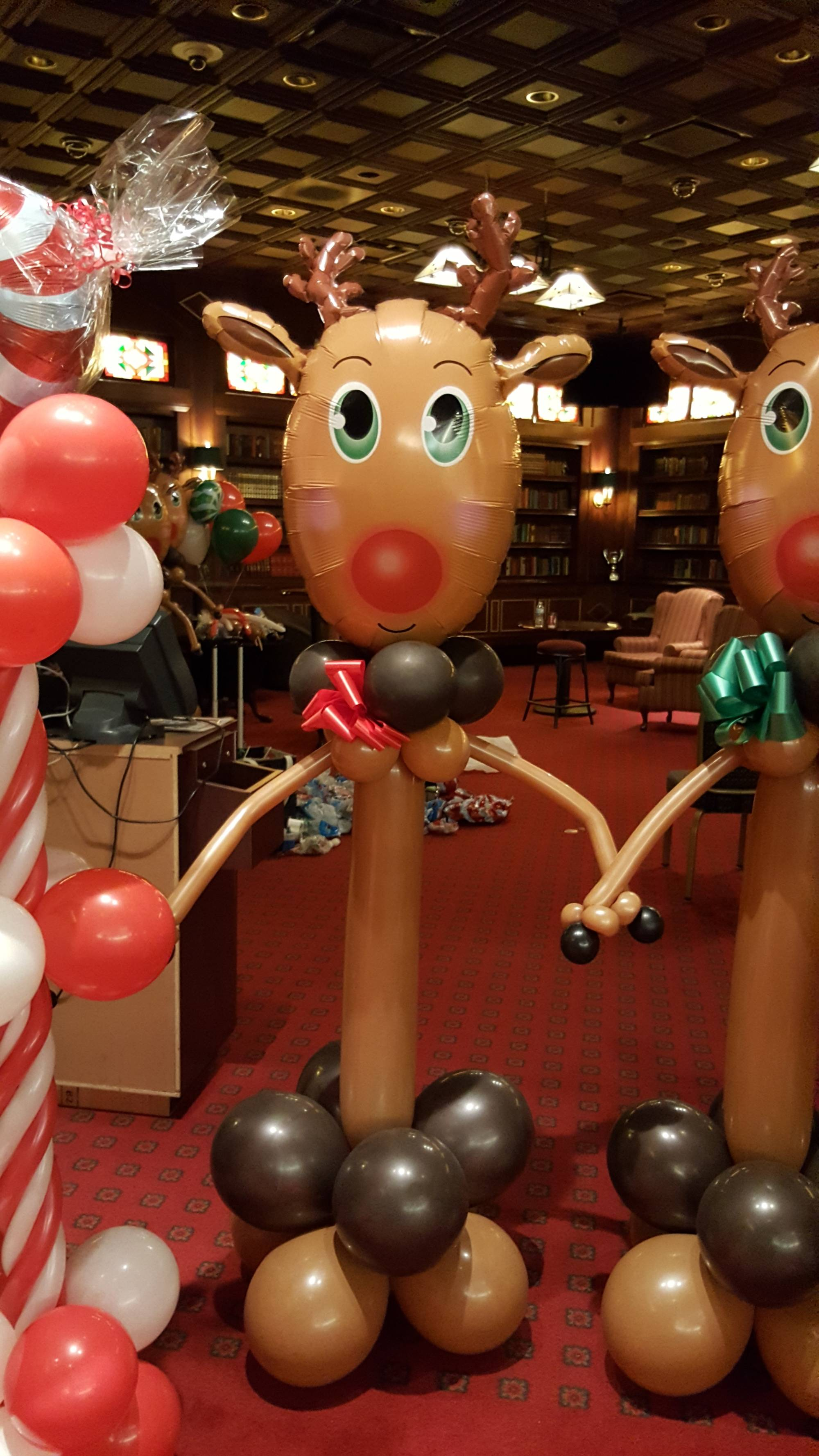 Balloon Reindeer by Balloon Empire
